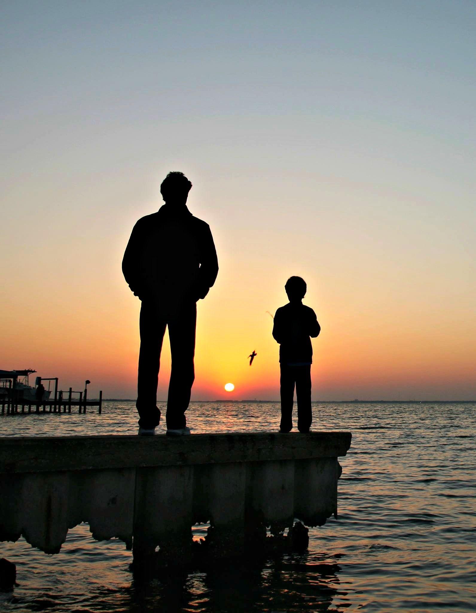 Pier Fishing At Sunset, Courtesy Of Florida's Emerald