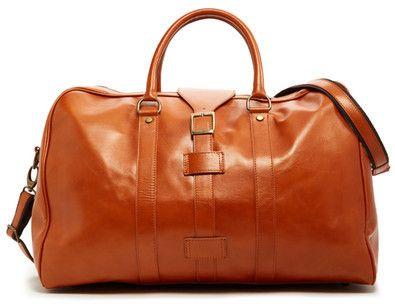 96f16e4a0f Persaman New York Santino Italian Leather Duffle