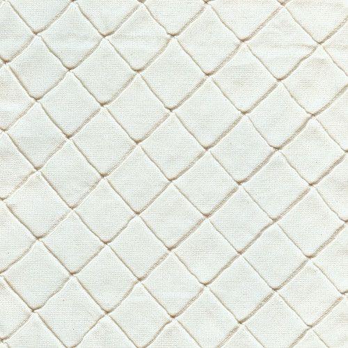 Ivory Diamond Pintuck Fabric by the Yard from PoshTots