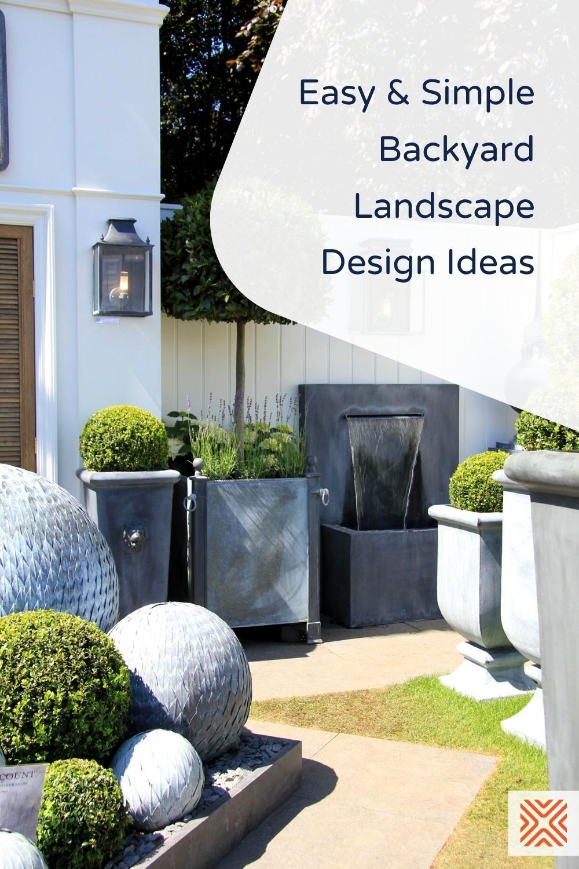 16 Backyard Landscaping Ideas That Are Simple Yet Beautiful Small Garden Design Garden Design Ideas On A Budget Garden Renovation Ideas