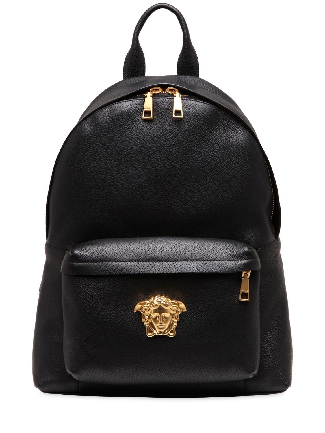 8c83b1c61a VERSACE MEDUSA LEATHER BACKPACK.  versace  bags  leather  lining  backpacks