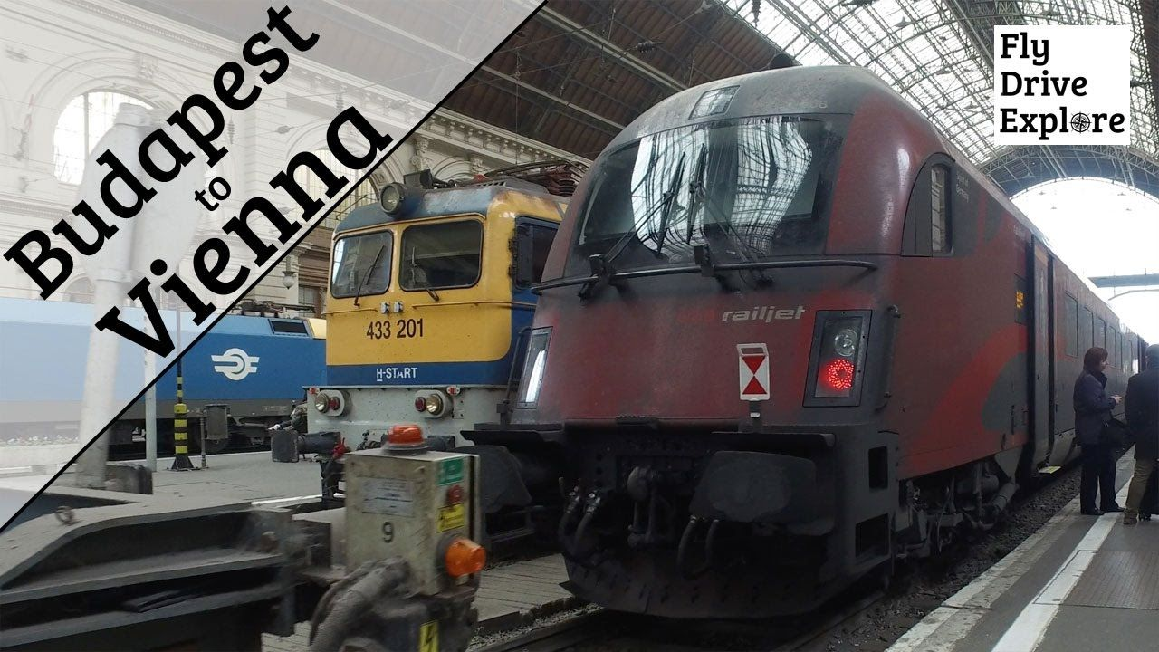 Budapest To Vienna By Train Obb Railjet Business Class Budapest Train Travel Videos