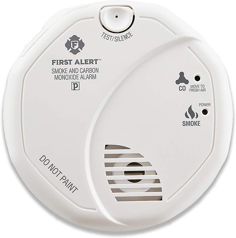 Smoke Detector And Carbon Monoxide Detector Alarm Carbon