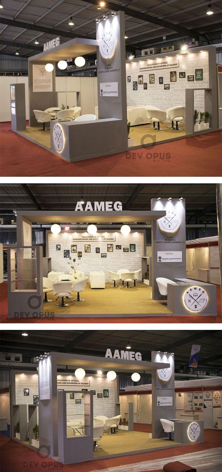 Exhibition Stall Manufacturer In Gujarat : Exhibition stand design at india exhibition stall design