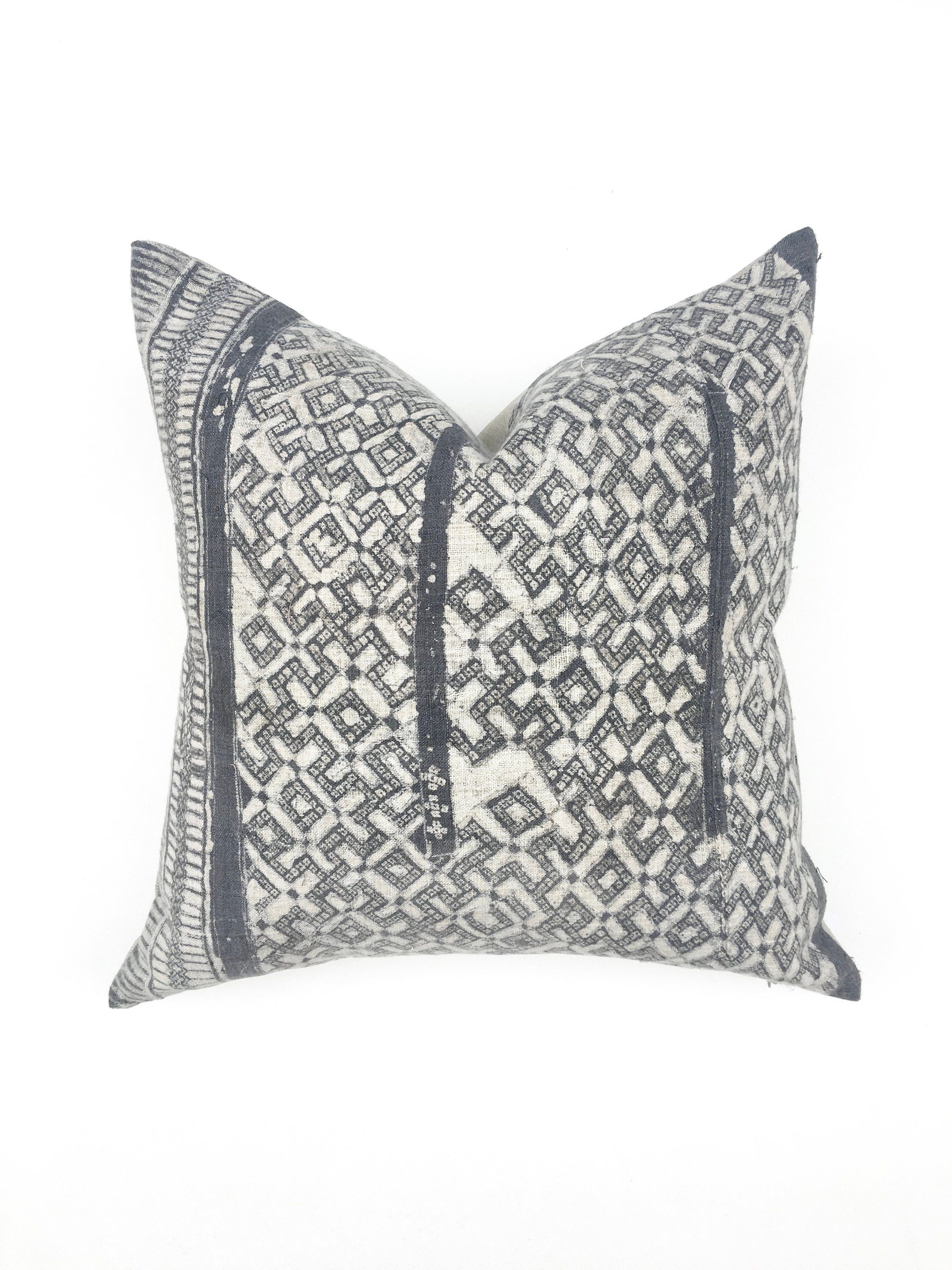 Chinese Hill Tribe Square Pillow Cover