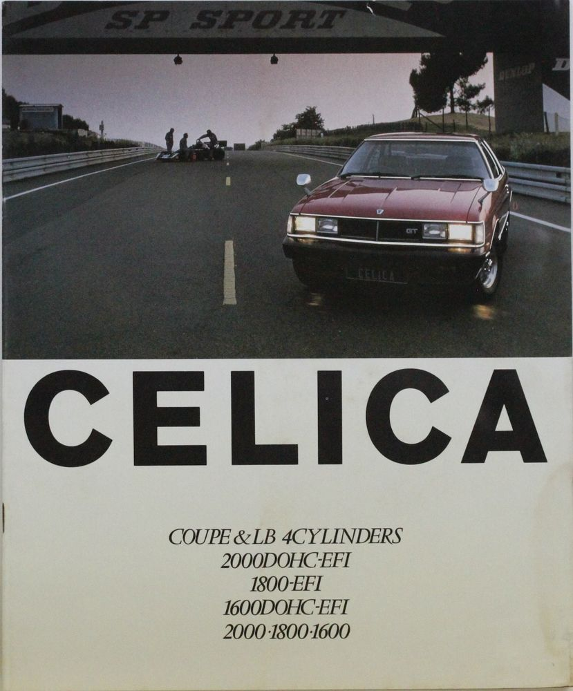 Japanese Brochure Toyota Celica Sales Classic Car Catalog Vintage Jr73 トヨタセリカ 旧車 トヨタ
