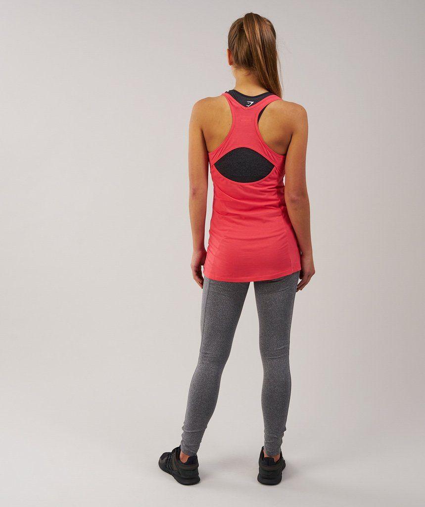 49b6ae3276360 Gymshark Tempo Vest - Sherbet Pink | xmas | Vest, Workout vest, Pink