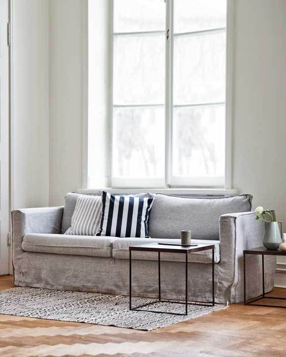 Karlstad, 3 Seater Sofa Cover Loose Fit Urban