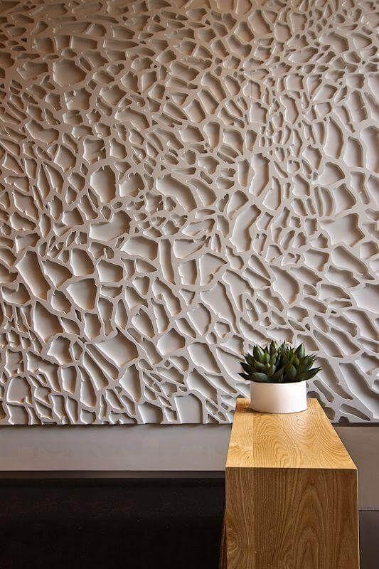 Parede De Gesso Com Textura Shadow Box Focals Etc Pinterest - Fassaden fliesen kaufen