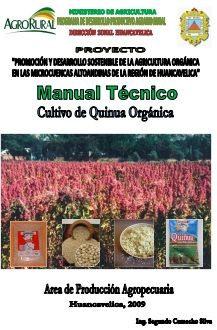 Manual Técnico Cultivo De Quinua Quinoa Orgánica Quinua