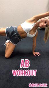 Mat Ab Workout- Folgen Sie Ambry Mehr | Gesundheit & Fitness Blogger | IG für freie Arb ... -  Mat A...