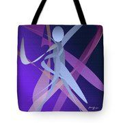 Woman And Difficult Choice Tote Bag by Laura Greco