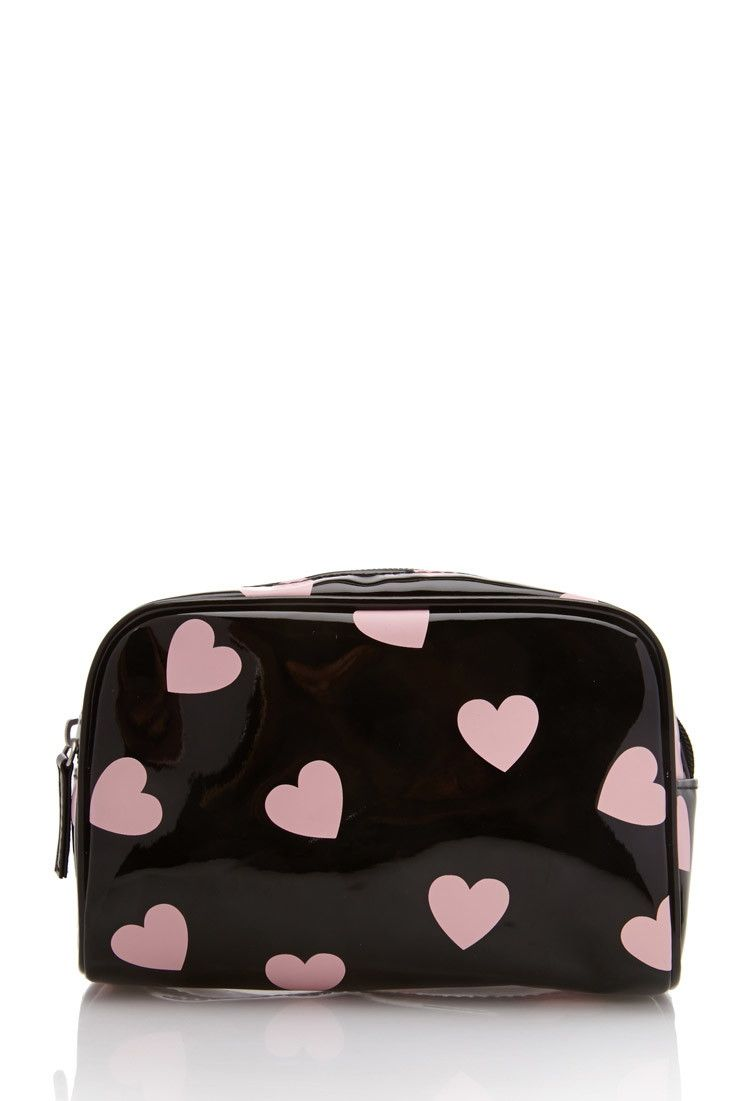 Heart Print Makeup Case Cute Makeup Bags Makeup Bag Makeup Case