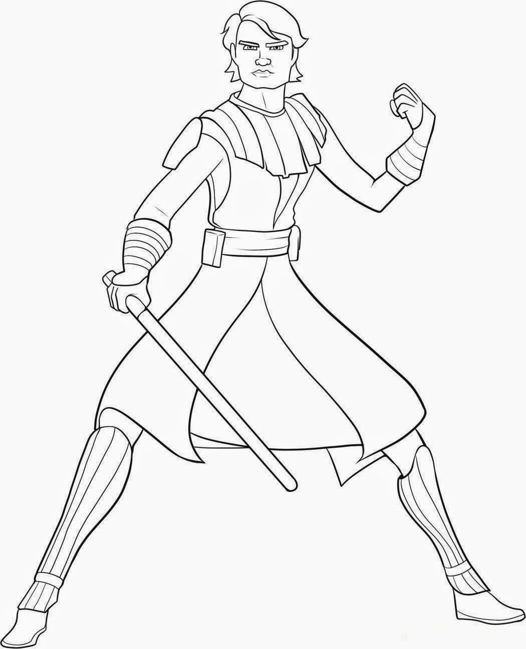 Anakin Skywalker Coloring Page Beautiful Free Star Wars Coloring Pages Anakin Skywalker For Kids In 2020 Star Wars Colors Star Wars Drawings Star Wars Coloring Book