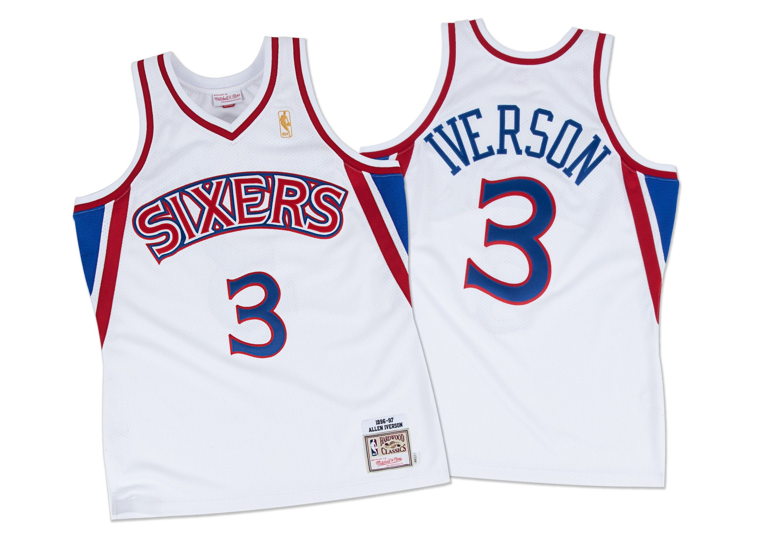 477d0485a Allen Iverson 1996-97 Authentic Jersey Philadelphia 76ers - Mitchell   Ness