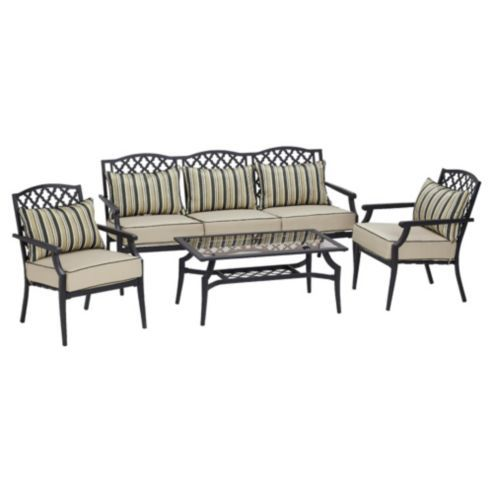Buy Dobbies St Regis Sofa Set - 2 Chairs 1 Sofa And 1 Table from our ...
