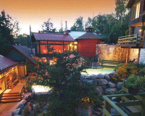 Scandinavian Spa At Blue Mountain Mont Tremblant Scandinavian Baths Getaway Places
