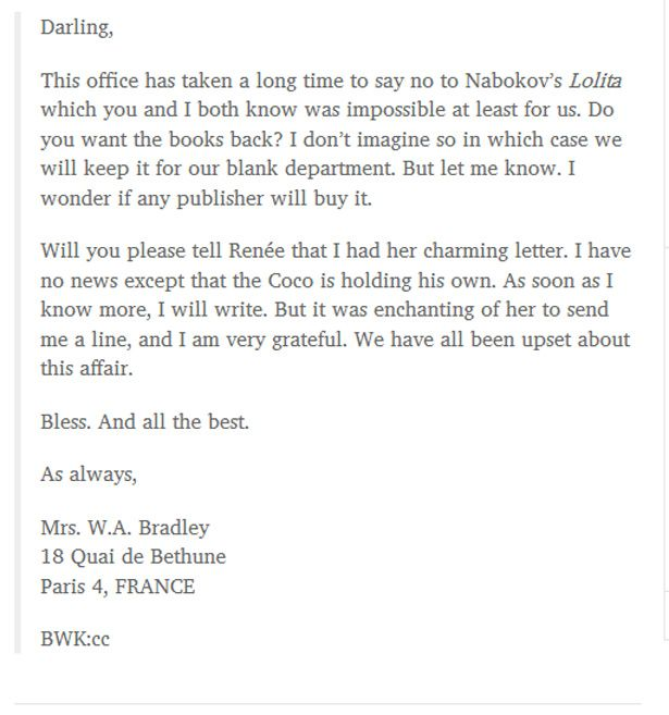 Rejection letters sent to famous people - rejection letter sample