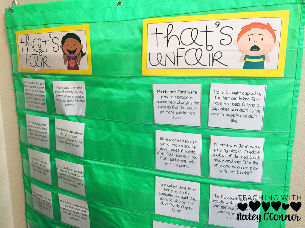 Character Education Fairness Lesson Plans And Activities