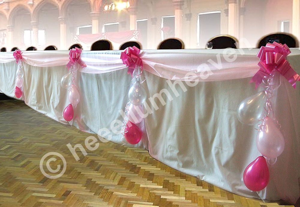 Buffet table decoration pack wedding christening engagement