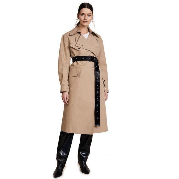 Wählen Sie für späteste verfügbar Temperament Schuhe Helmut Lang Utility Mackintosh Trench Coat ($905) ❤ liked ...