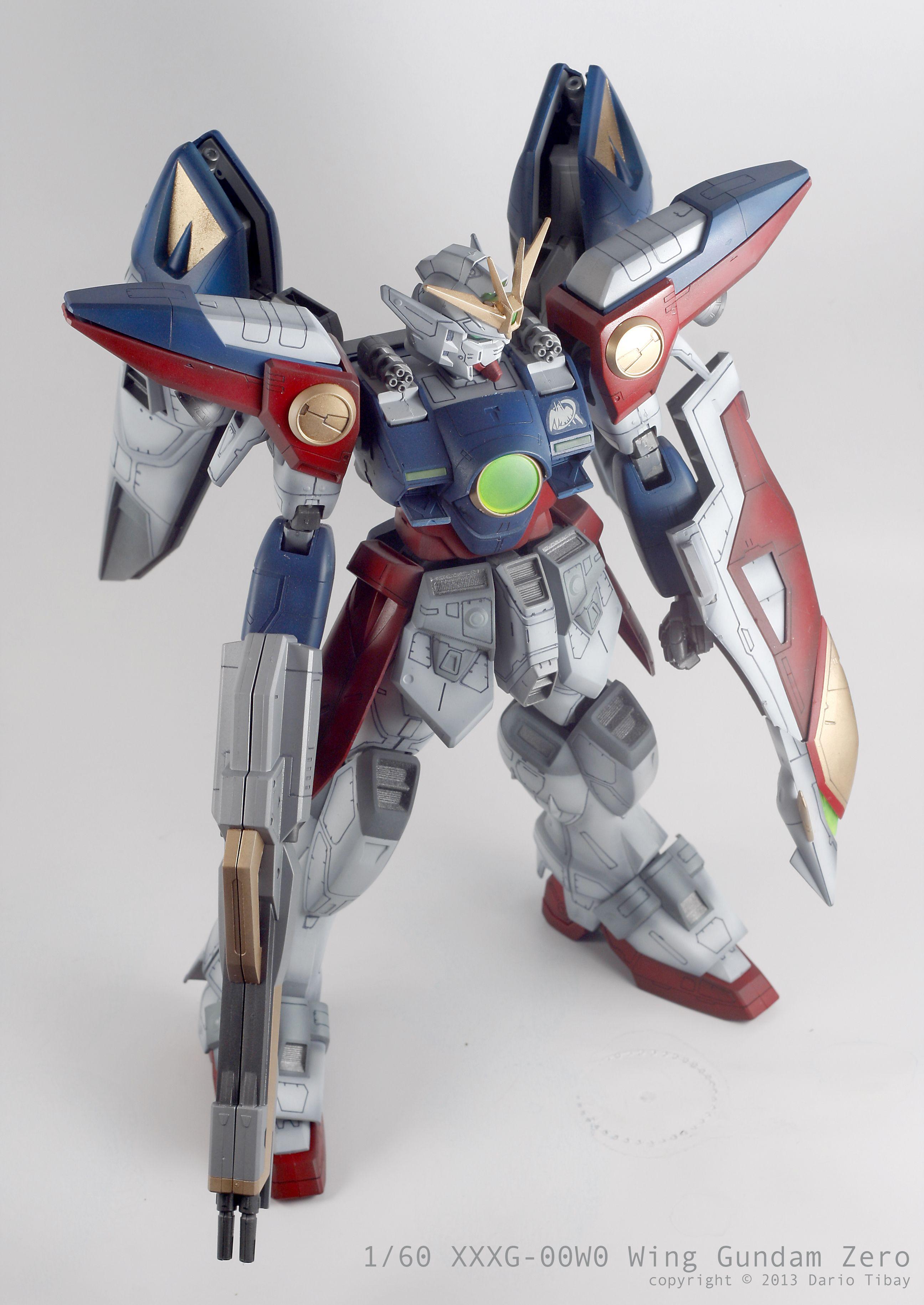 1/60 Gundam Wing Zero by Dario TIbay Gundam wing, Anime