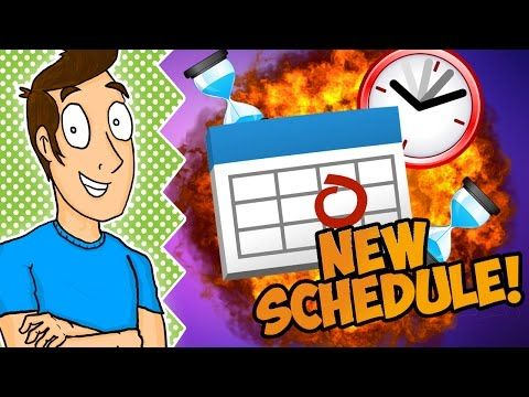 MY NEW UPLOAD SCHEDULE! (Important Update) - YouTube