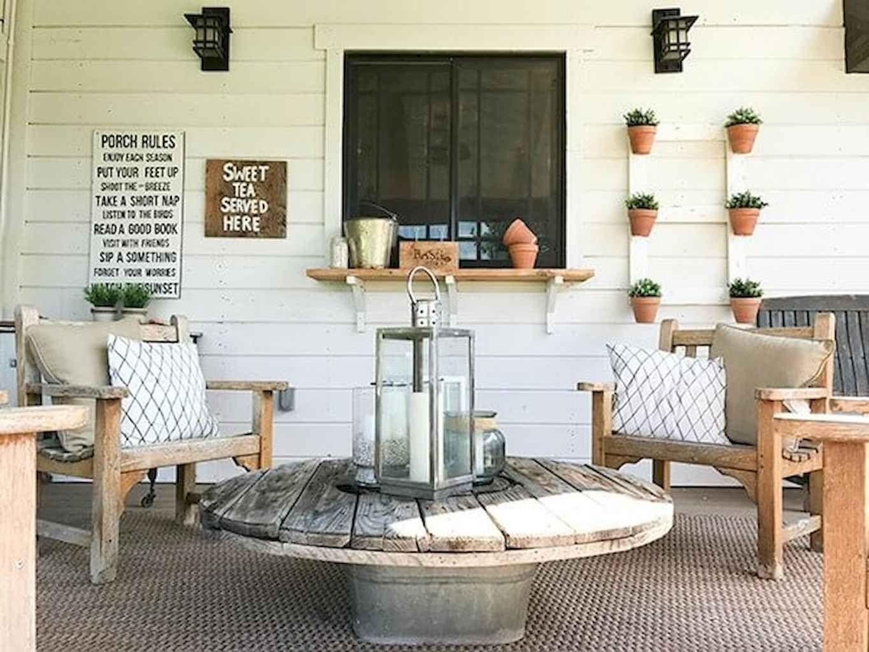 44 rustic farmhouse porch decor ideas summer porch decor
