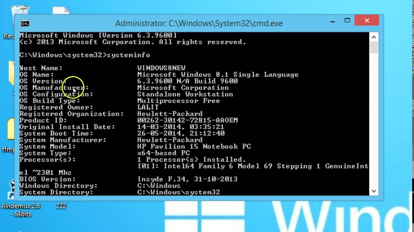 How To Check System Configuration Using Command Prompt On Windows