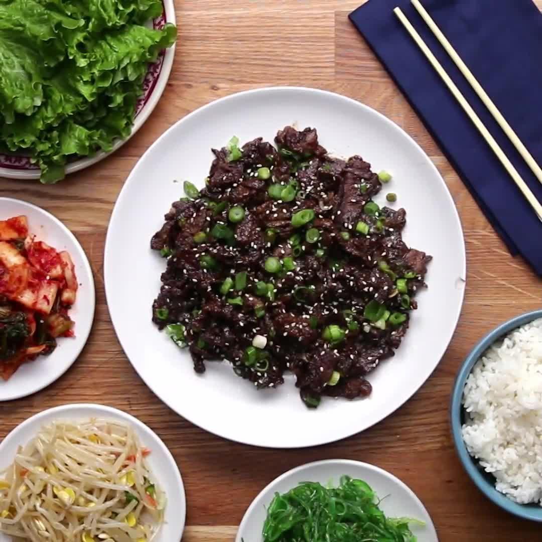 "Proper Tasty on Instagram: ""Korean BBQ-Style Beef (Bulgogi ..."