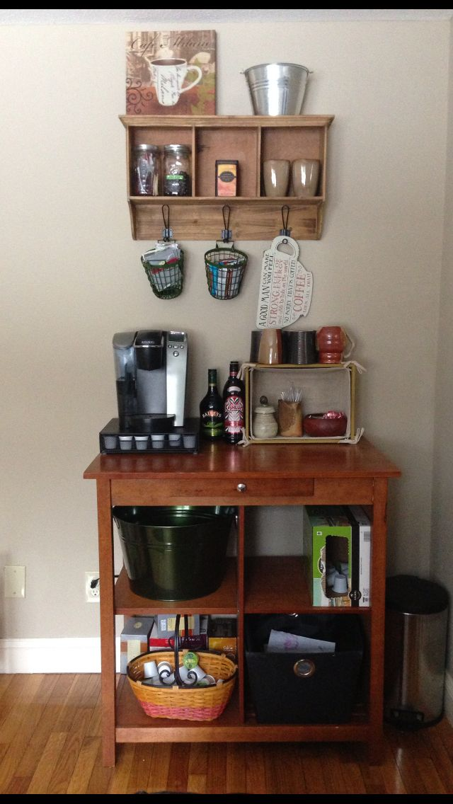 Create A Perfect Home Or Office Coffee Station Great