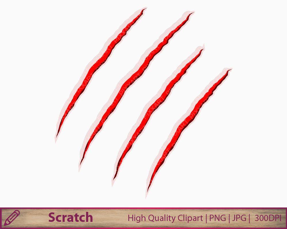 scratch clipart halloween clip art blood horror by pixxartpictures halloween clipart digital collage collage [ 1000 x 800 Pixel ]