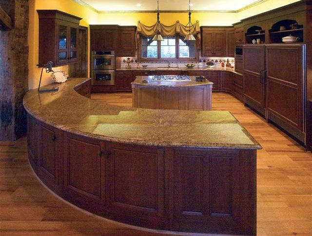 Curved Kitchen Island Pictures Http Www Kitchendecorate Units Html