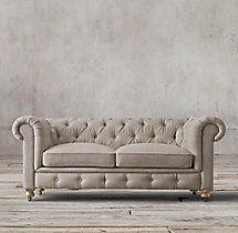 "84"" Petite Kensington Upholstered Sofa"