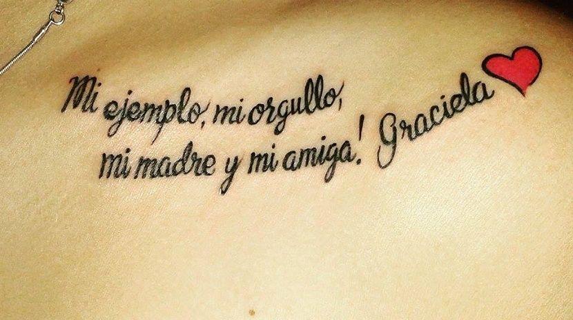 10 Frases En Espanol Para Tatuajes De Amistad Tatoo Pinterest - Tatuajes-de-frases-de-amistad