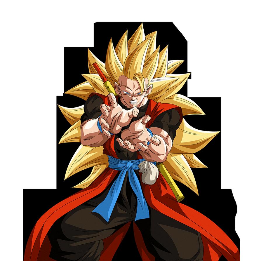Goku Ssj3 Xeno Render Dokkan Battle By Maxiuchiha22 Anime Dragon Ball Super Dragon Ball Tattoo Dragon Ball Image