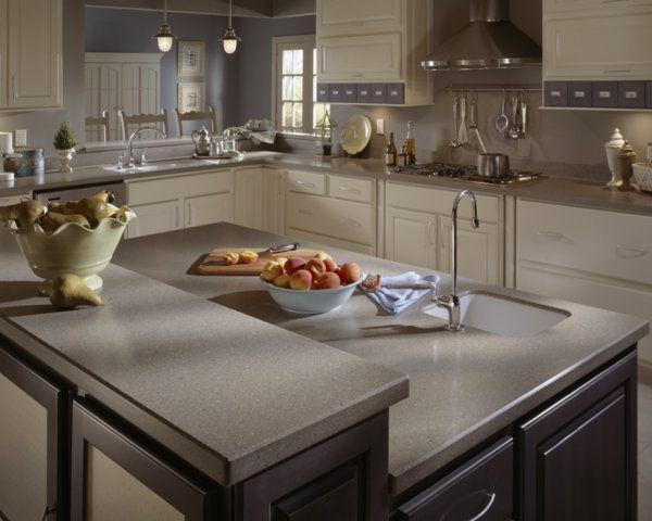 Corian® kitchen featured in Doeskin | Corian® Kitchens | Pinterest ...