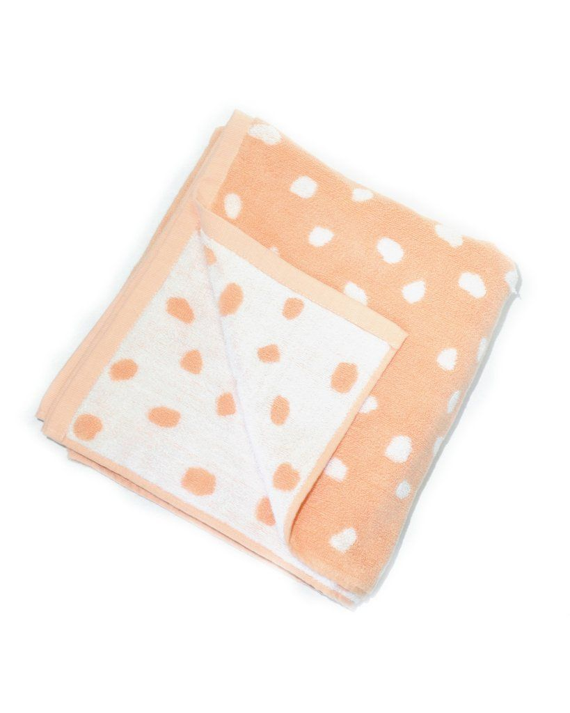 HAND TOWEL!  Pink Rocks Beach Towel
