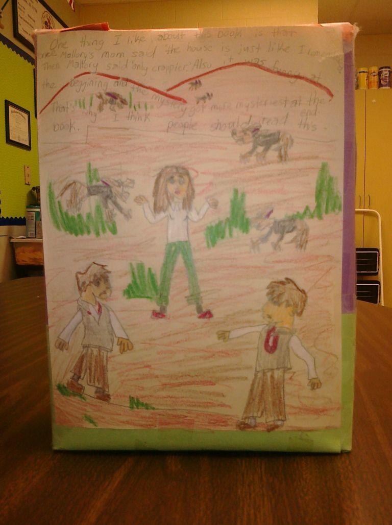 Park Art My WordPress Blog_Cereal Box Book Report 3rd Grade