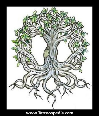 Irish Celtic Tree Of Life Tattoo 1.jpg 346×407 pixels | tree of ...