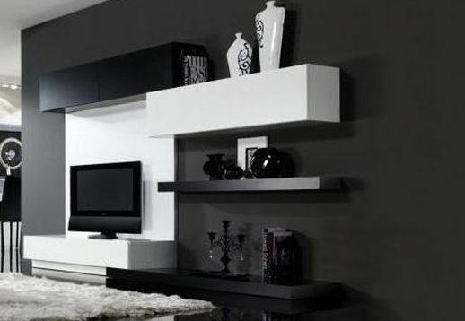 Best 25 centros de entretenimiento modernos ideas on - Muebles para tv modernos ...