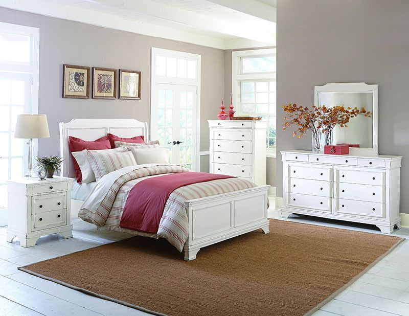 Homelegance 2223kw 1ck Derby Run Collection Color White Sand Through