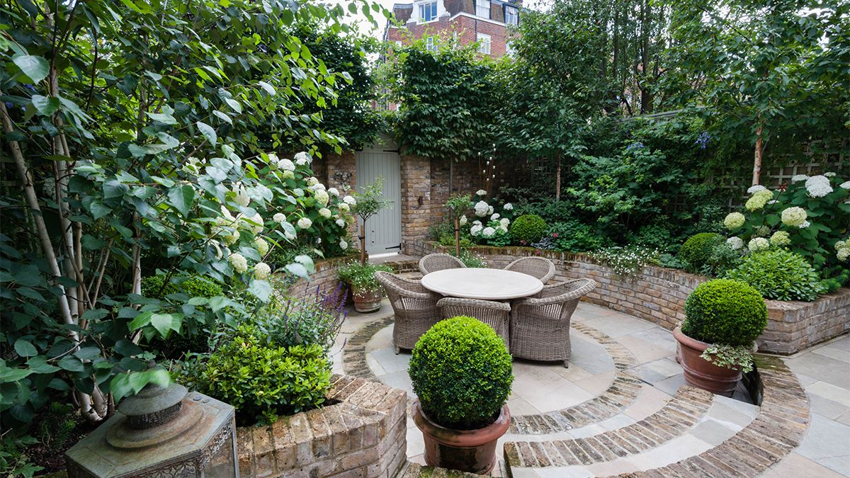 Small Space, Big Solutions: Courtyard Garden | Court yard, Gardens ...