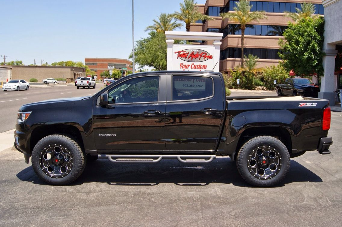 N fab wheel to wheel texture black nerf bars 15 16 chevy colorado crew cab 5 bed 2015 chevy colorado nerf and chevy