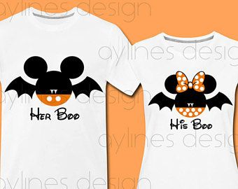 de7456c5804b Halloween Vampire, Couple Halloween, Halloween Shirt, Mickey Mouse Ears, Couple  Shirts,