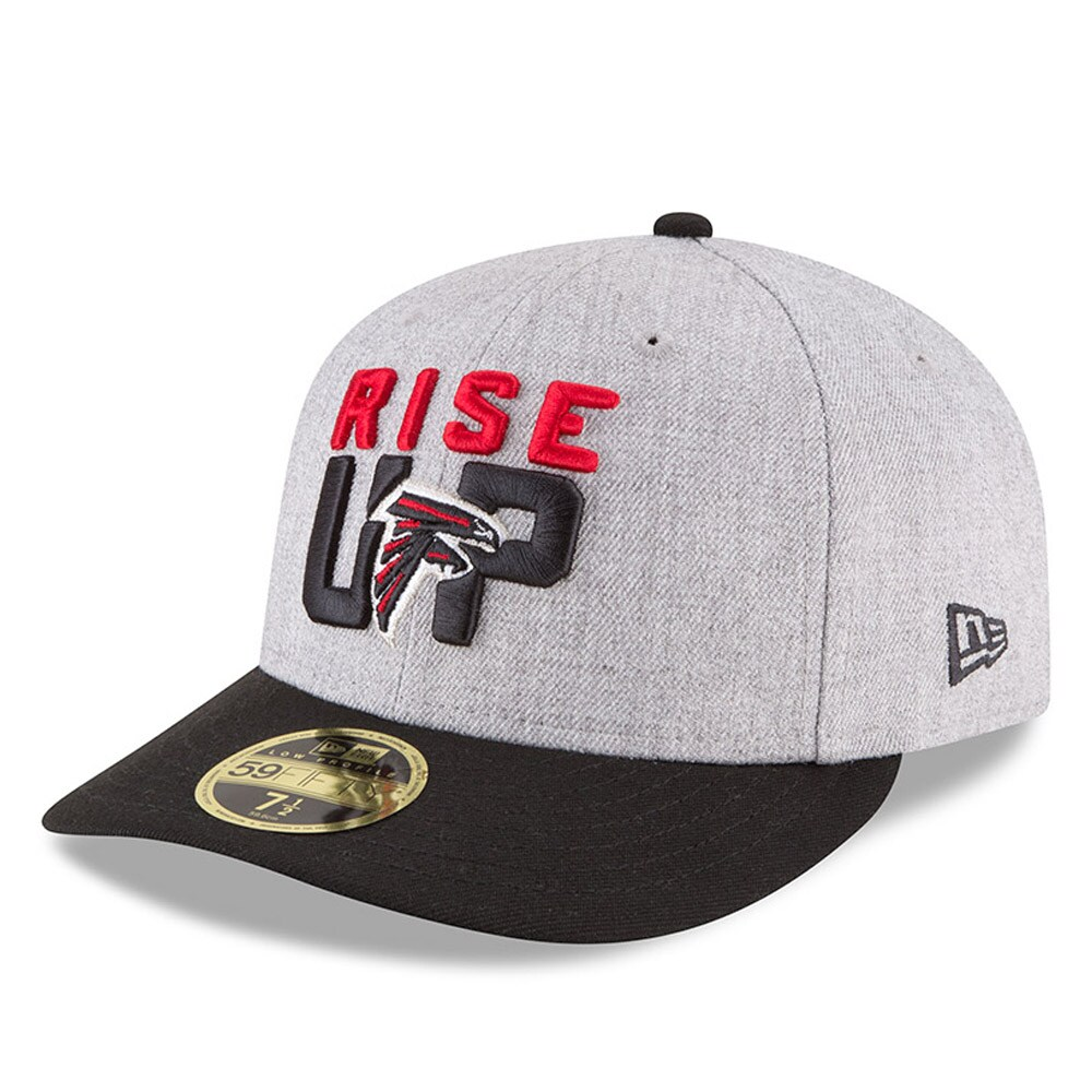 Celebrating The Rallying Cry That Unites An Entire Fandom The 2018 Nfl Draft Atlanta Falcons Low Profile 59fifty Fitted Ha In 2020 Fitted Hats Atlanta Falcons New Era