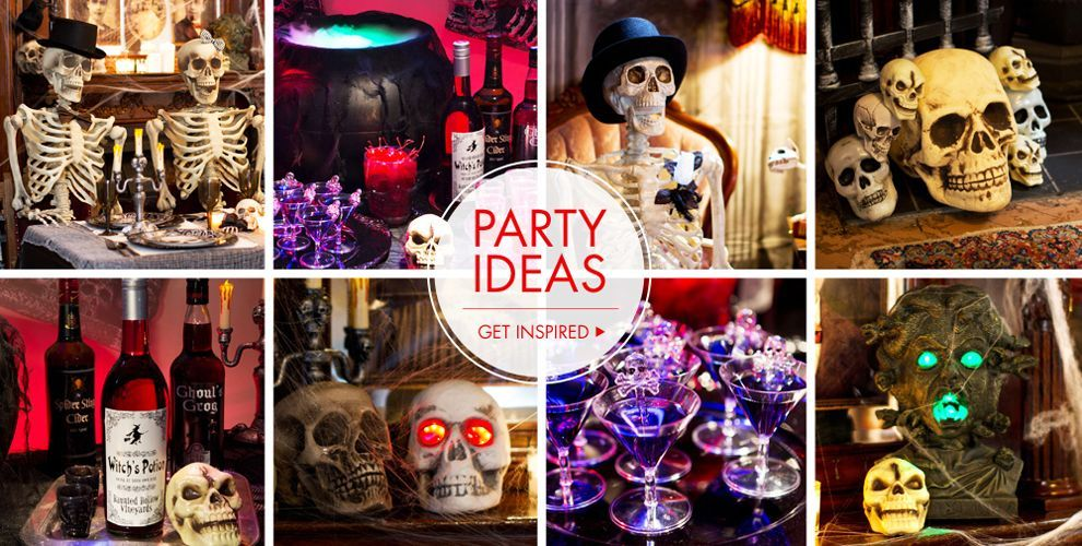 Shop For Haunted House Props To Transform Your Home Into A Horror Show, And Haunted  House Decorations To Hang From The Walls.