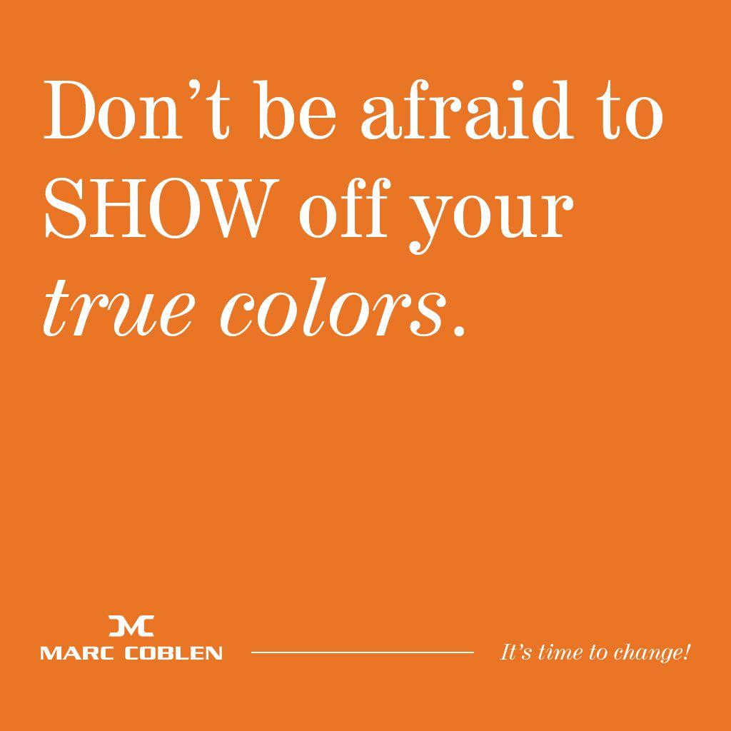 True colors Marc Coblen