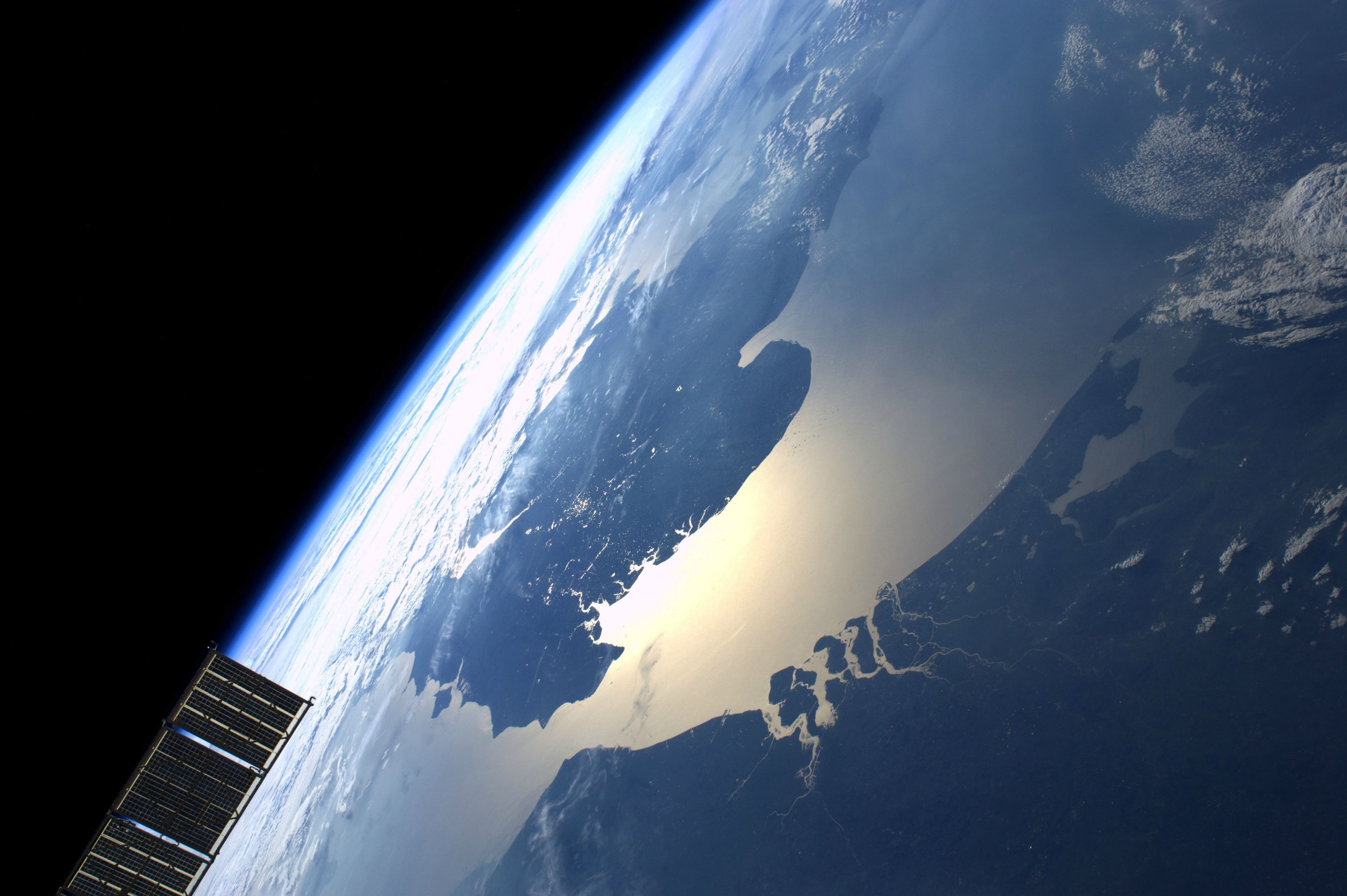 The North Sea & English Channel from space