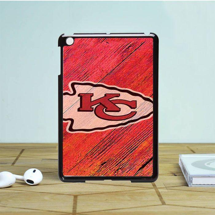 Kansas City Chiefs colored wood logo iPad Mini 2 Case Dewantary